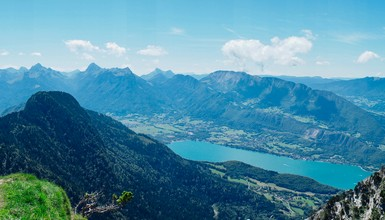 Summer is coming in Annecy Mountains