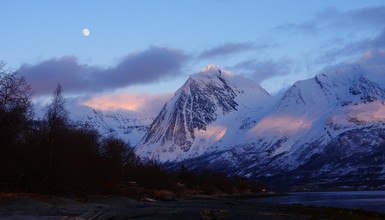 Norway , dreamy destination for ski touring and adventure.