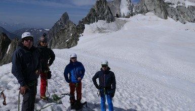 Glacier Hike at Col d'Entreves