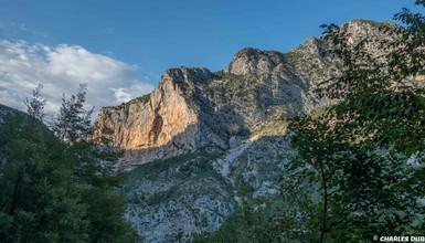 Climb in Aiglun