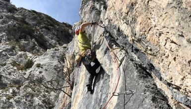 Trad climbing *****... at home!