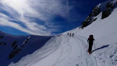 An Amazing ski touring outing in Chablais mountains