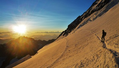 The most beautiful routes in Ecrins mountains