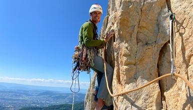 "Rock Climbing at Perthuis- "" Madness"""