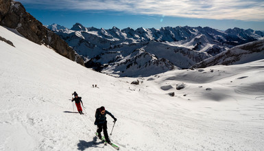 Ski touring: 5 trails for beginner closed to Annecy