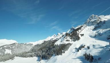 ski Touring in Aravis Range: La combe de Tardevant