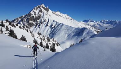 Tour du Roc d'Enfer en ski de rando