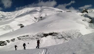Ski touring trip in Vanoise