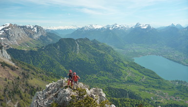 Multi pitch climbing routes in Haute-Savoie : the guide's selection